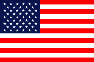 Polyester 2-Ply Sewn Heavy Duty United States Flag (3'x5' - 30'x60')